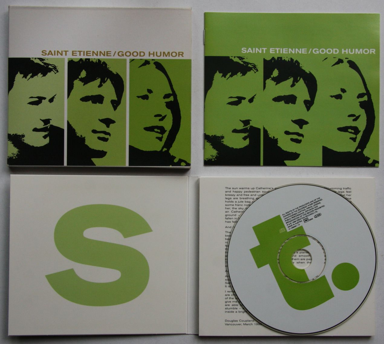 Saint Etienne - Good Humor Record