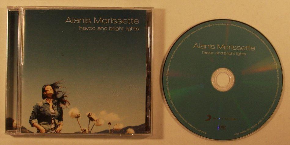 ALANIS MORISSETTE - HAVOC AND BRIGHT LIGHTS ALBUM LYRICS
