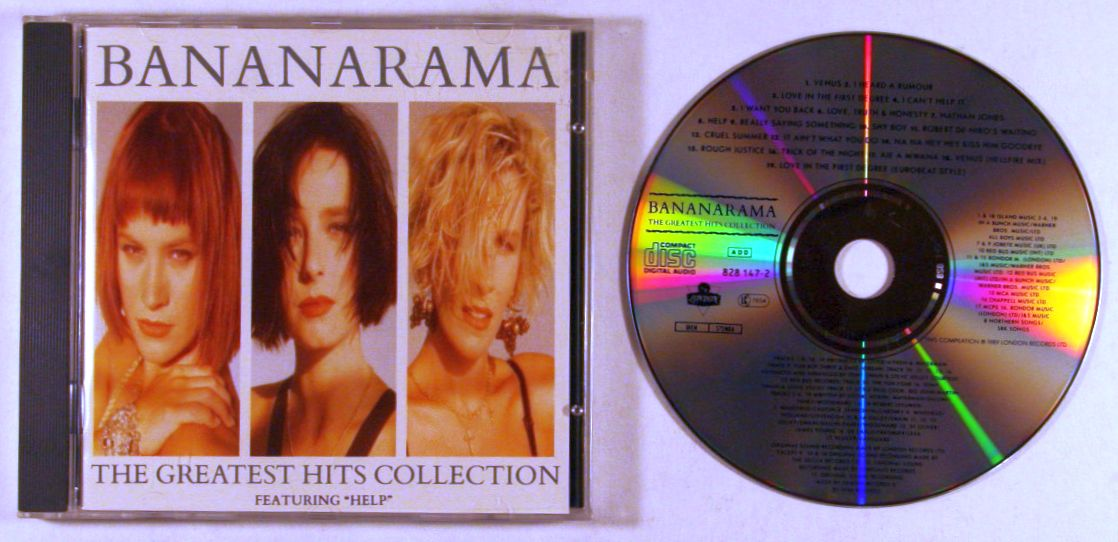 Bananarama The Greatest Hits Collection (1988)