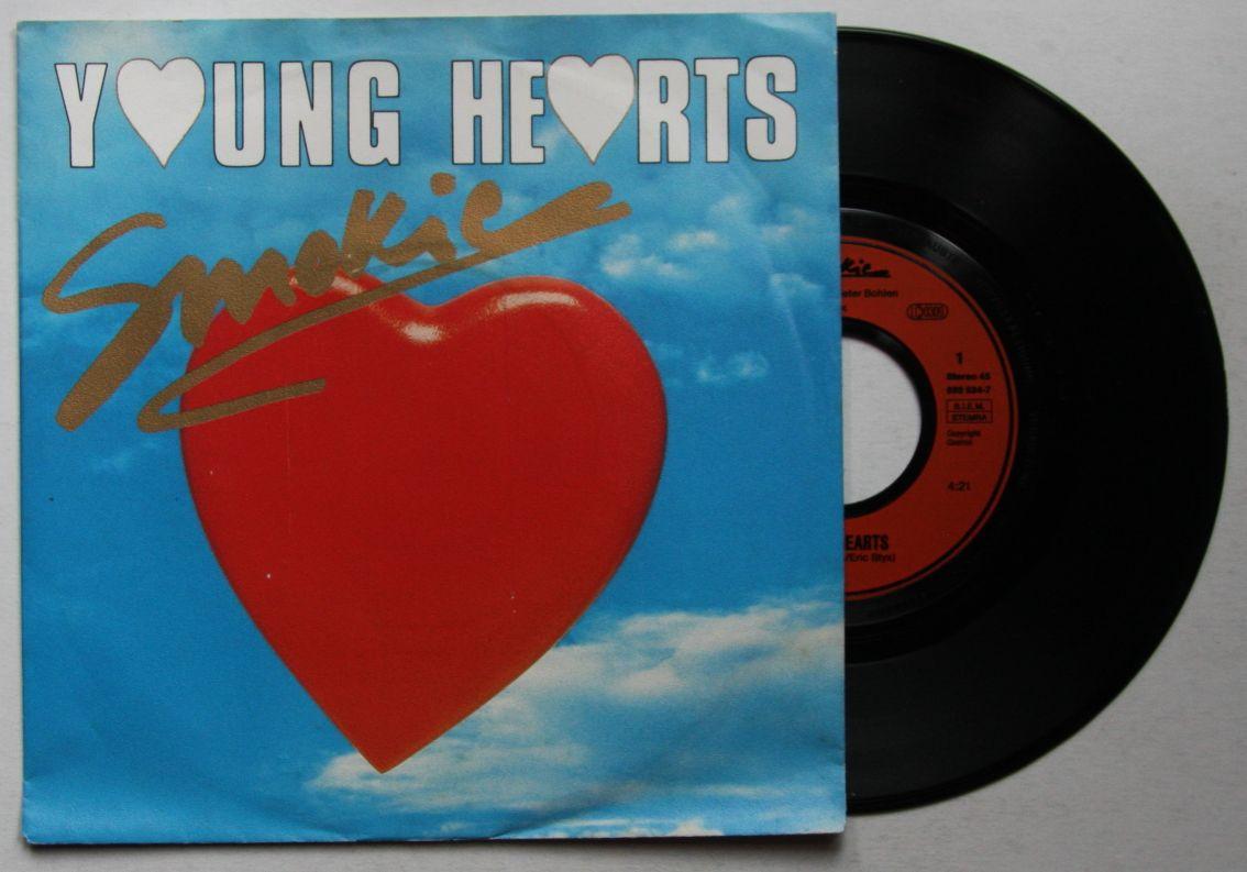 Smokie Young Hearts German Single 1989 Dieter Bohlen | eBay